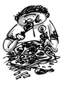 Troppi fritti ingrassano