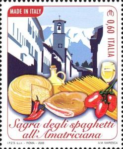 "Sagra degli spaghetti all'Amatriciana - Serie ""Made in Italy"""