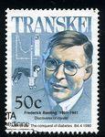 Transkei 1990 Heros of Medicine — Banting