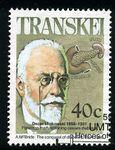 Transkei 1990 Heros of Medicine — Minkowski