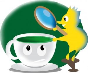 Che cosa c'è in una tazza di tè verde?