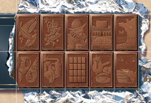 Cibo & Filatelia: il cioccolato