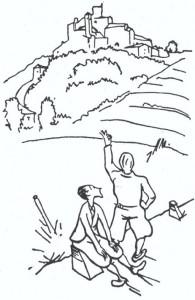 Il ghiottone errante - illustrazione