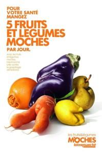 """Uno dei cartelloni della campagna di """"Intermarché"""""""
