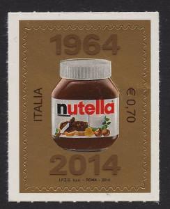 Francobollo dedicato alla Nutella®