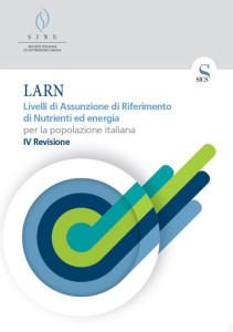 Livelli di Assunzione di Riferimento di Nutrienti ed energia per la popolazione italiana. IV Revisione