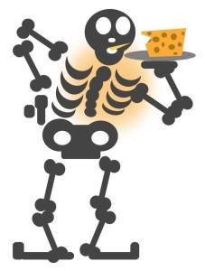 Quando mangiamo, nutriamo le nostre ossa!