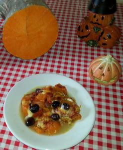 Zuppa di zucca al forno — Fotografia scattata da Mariarosa Di Lella